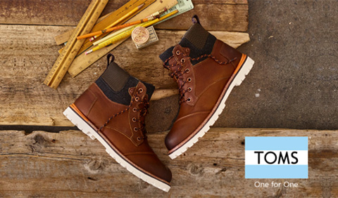 TOMS - ONE FOR ONE - jesen zima 2016 Srbija Office shoes