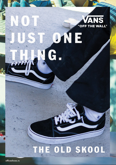 VANS - OFF THE WALL - Kolekcija Jesen Zima 2017 - Office shoes SRBIJA